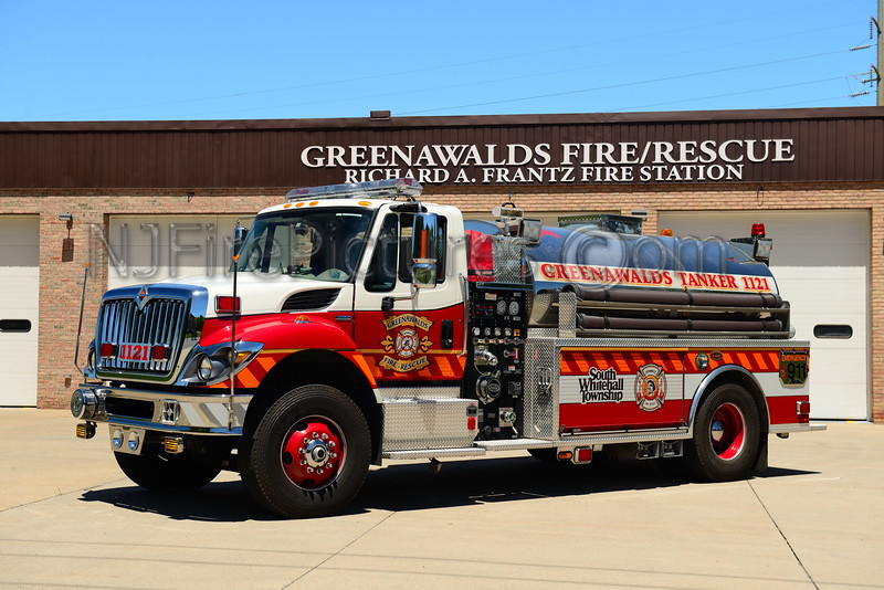 GREENAWALDS, PA TANKER 1121