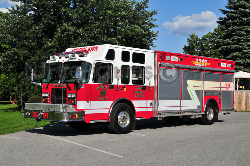 South Whitehall Twp Rescue 3291 - 2006 Spartan/KME (Woodlawn Fire Co.) Lehigh County