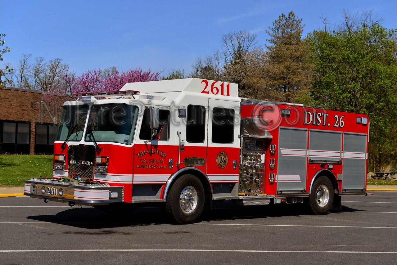 OREFIELD, PA (TRI-CLOVER FIRE CO.) ENGINE 2611