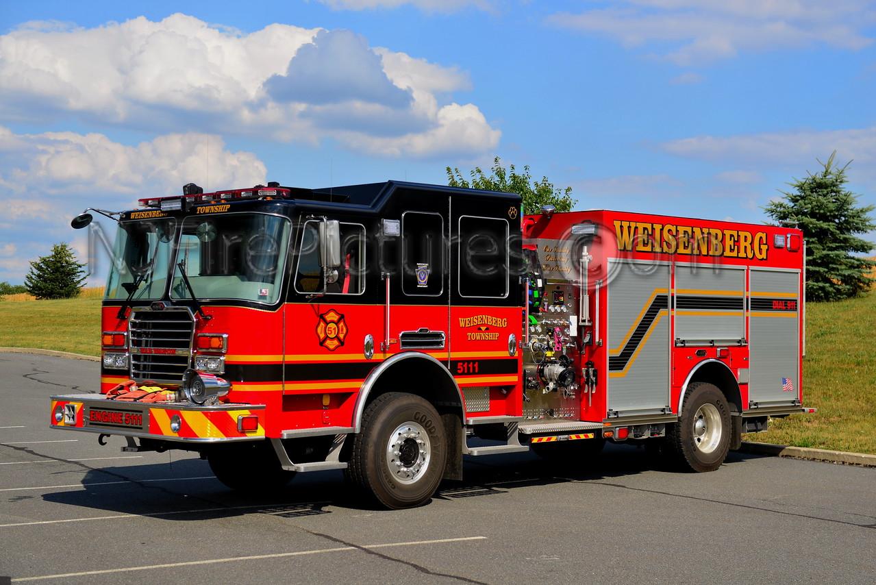 WEISENBERG TOWNSHIP, PA ENGINE 5111
