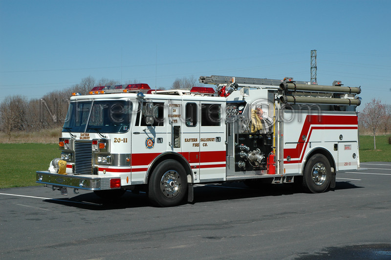 Eastern Salisbury - Engine 2011 - 1989 Pierce Lance 1250/750/40
