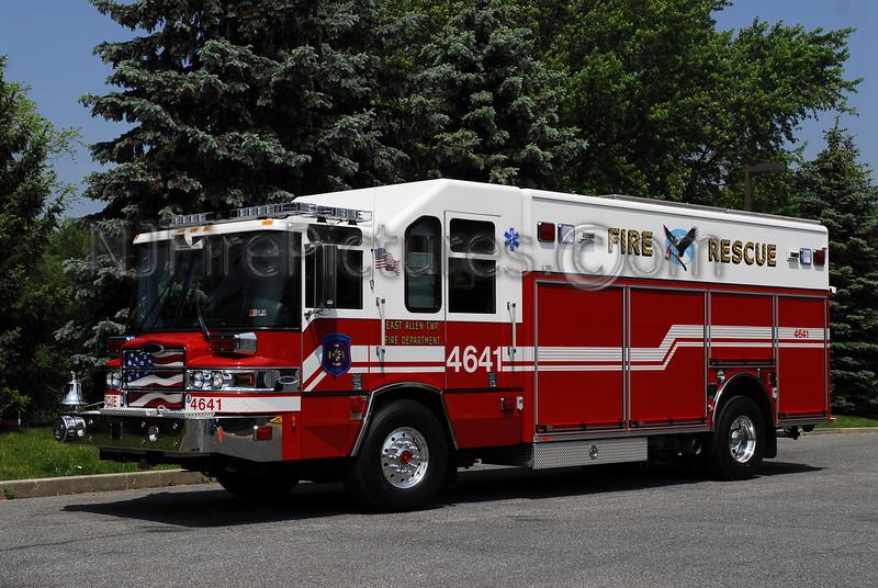 East Allen Township, PA Rescue 4641 - 2008 Pierce Quantum Photo By: Adam Alberti