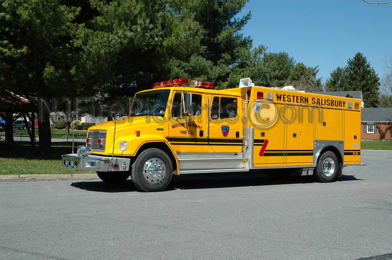 Western Salisbury - Rescue 3191 - 1995 Freightliner/Marion