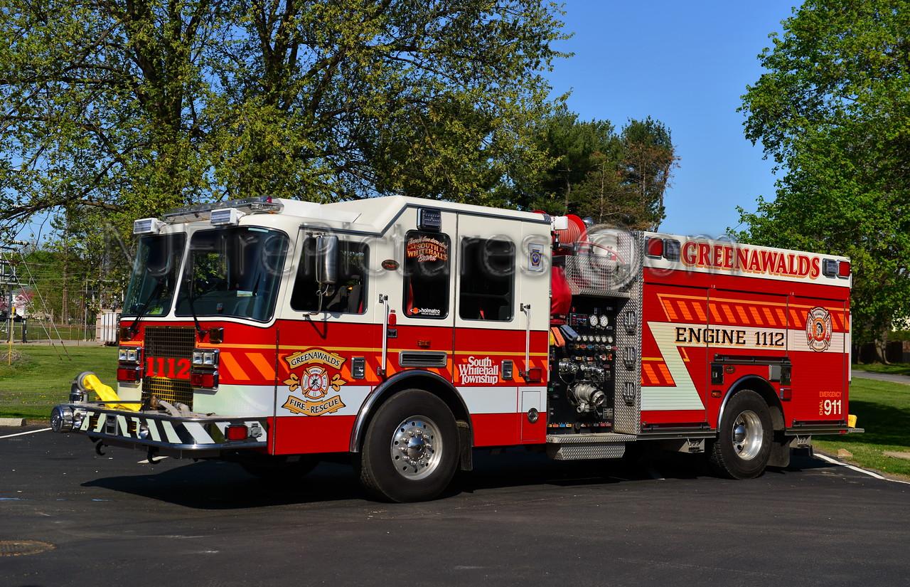 SOUTH WHITEHALL, PA (GREENAWALDS) ENGINE 1112
