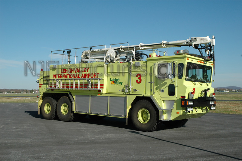 Lehigh Valley International Airport - Crash 3 - 1989 Oshkosh/Snozzle 2250/3000/500/55' 450lb Dry-Chem