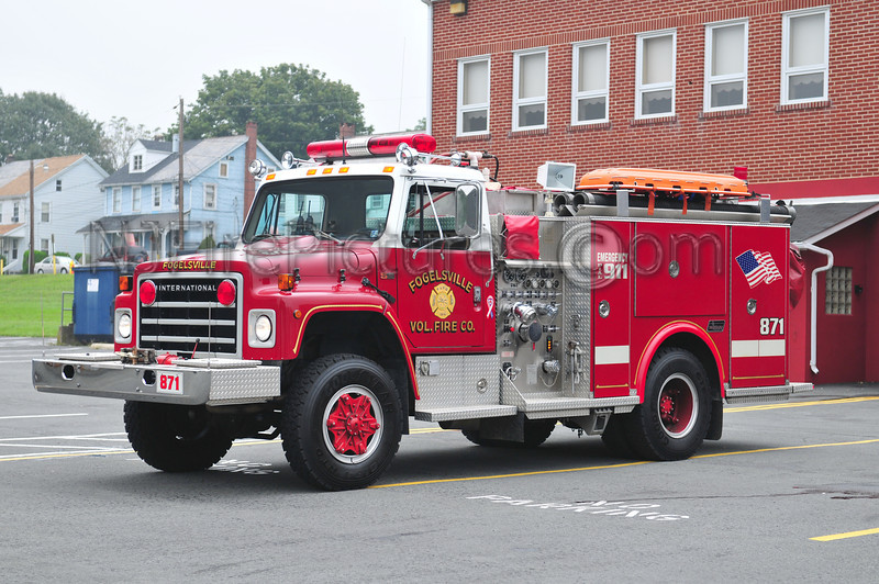FOGELSVILLE ENGINE 871 - 1986 INTERNATIONAL/SAULSBURY 750/500