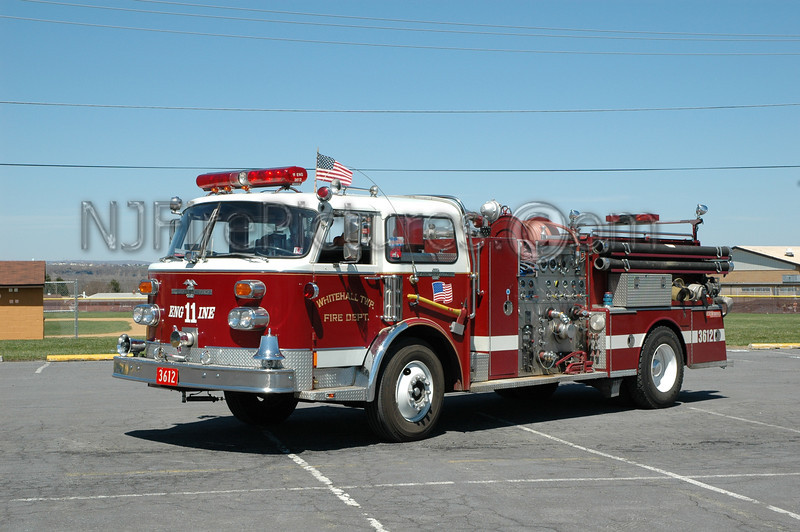 Whitehall Twp - Engine 3612 - 1975 American LaFrance 1000/500