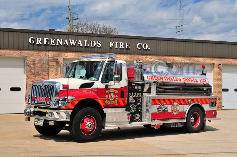 South Whitehall Twp, PA (Greenwalds FC) Tanker 1121 - 2009 International/KME 750/2000