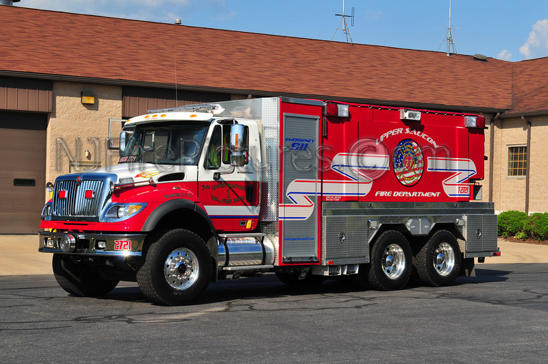 UPPER SAUCON TANKER 2721 - 2006 INTERNATIONAL 7600/FOUTS BROS. 1250/3200/300 FOAM