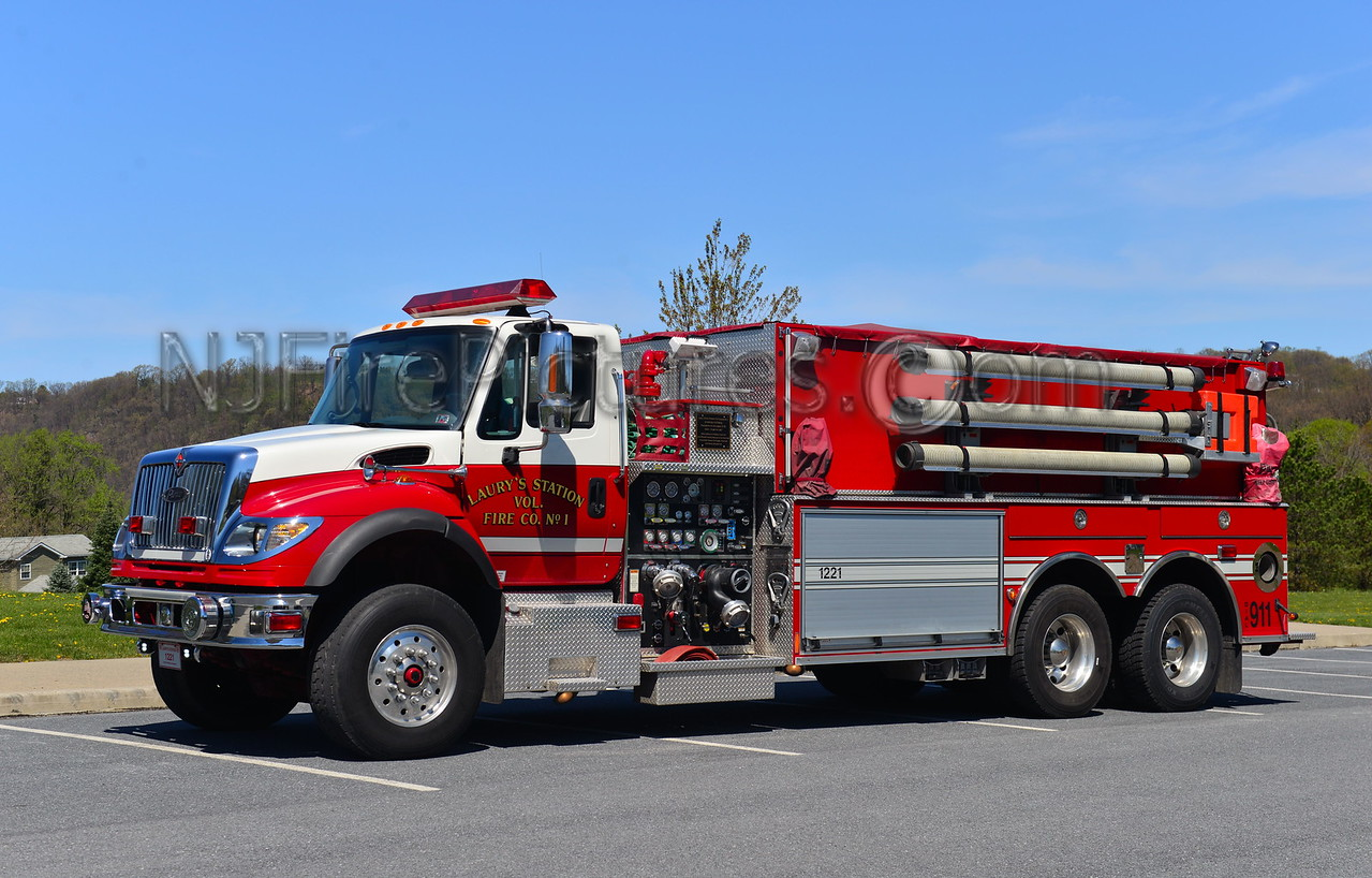 NORTH WHITEHALL, PA (LAURY'S STATION) TANKER 1221