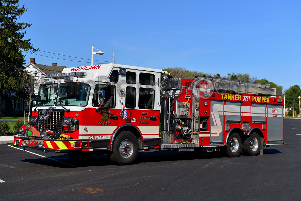 SOUTH WHITEHALL TWP, PA (WOODLAWN) TANKER-PUMPER 3221