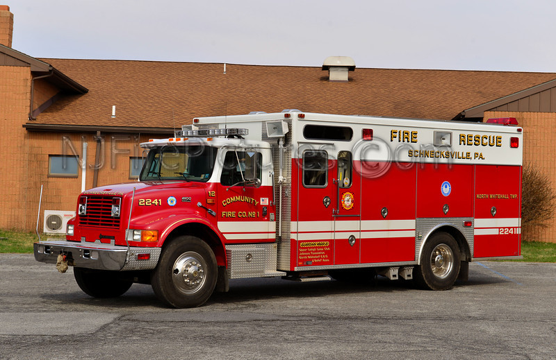 NORTH WHITEHALL TWP, PA SCHNECKSVILLE RESCUE 2241