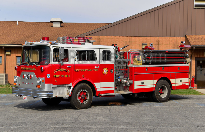 NORTH WHITEHALL TWP, PA SCHNECKSVILLE ENGINE 2211