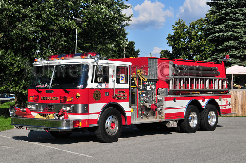 South Whitehall Twp Tanker 3221 - 1988 Pierce Dash 1000/2500 (Woodlawn Fire Co.) Lehigh County