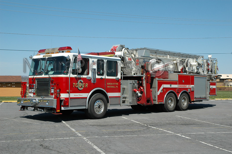 Whitehall Twp - Tower 3631 - 1994 Spartan/Aerialscope 95'