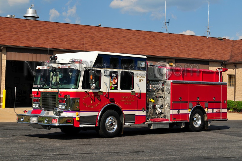 UPPER SAUCON ENGINE 2713 - 2002 SPARTAN/SWAB 1500/1000/30