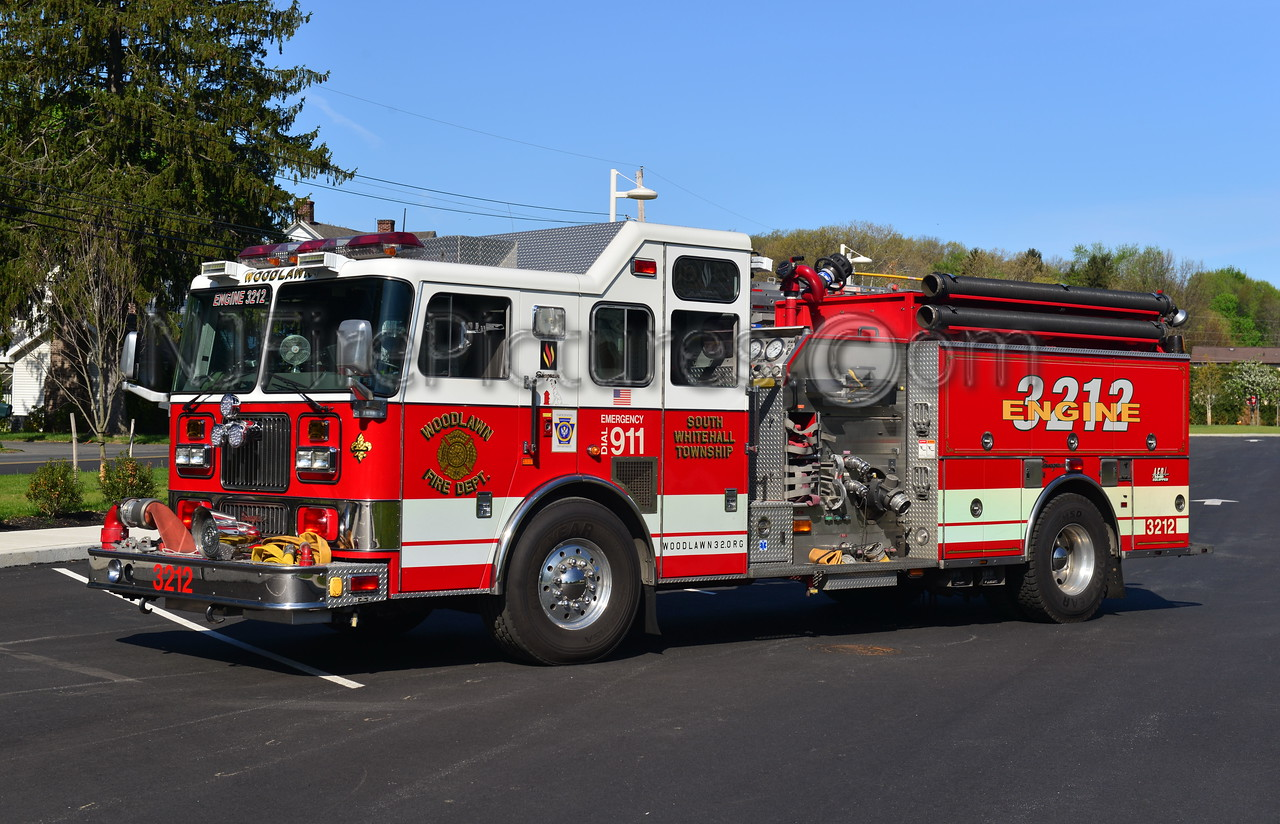 SOUTH WHITEHALL TWP, PA (WOODLAWN) ENGINE 3212