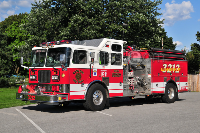 South Whitehall Twp Engine 3212 - 1998 Seagrave 1500/500/50A/40B (Woodlawn Fire Co.) Lehigh County