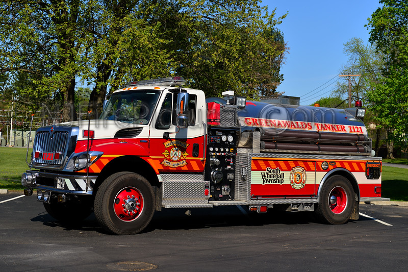 SOUTH WHITEHALL (GREENAWALDS) TANKER 1121