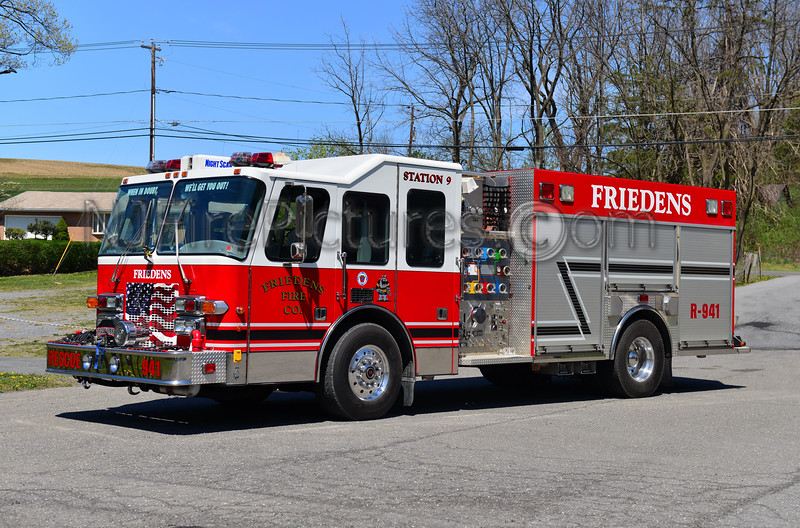 WASHINGTON TWP, PA (FRIEDENS FIRE CO.) RESCUE 941