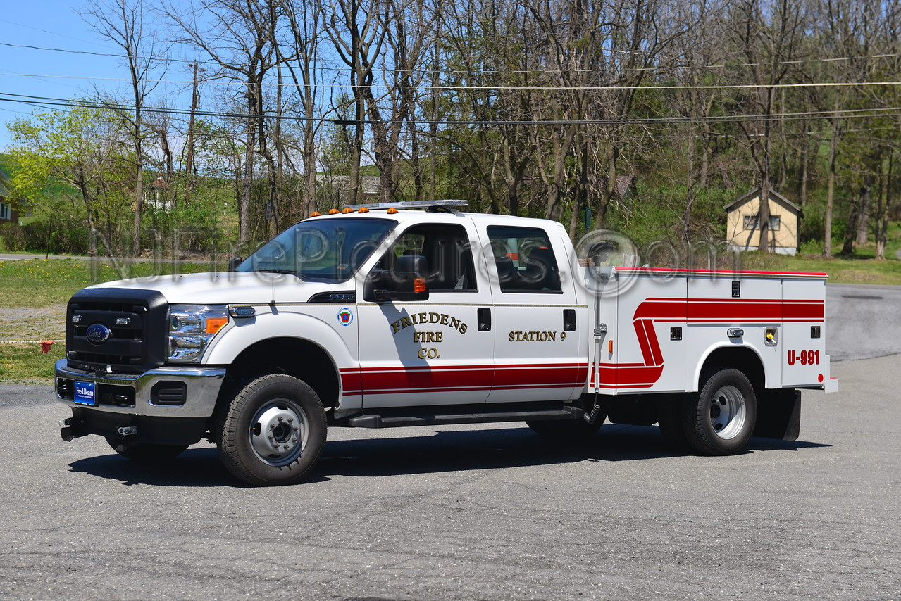 WASHINGTON TWP, PA (FRIEDENS FIRE CO.) UTILITY 991