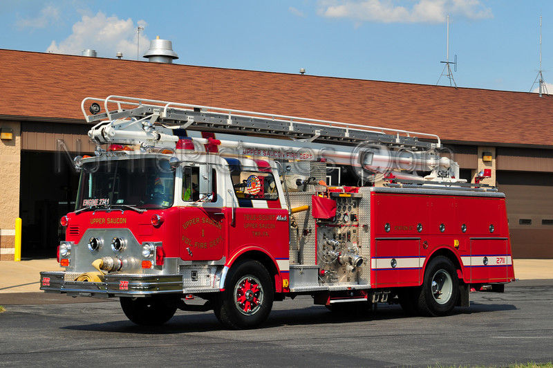 UPPER SAUCON ENGINE 2711 - 1980 MACK CF 1250/500/50'