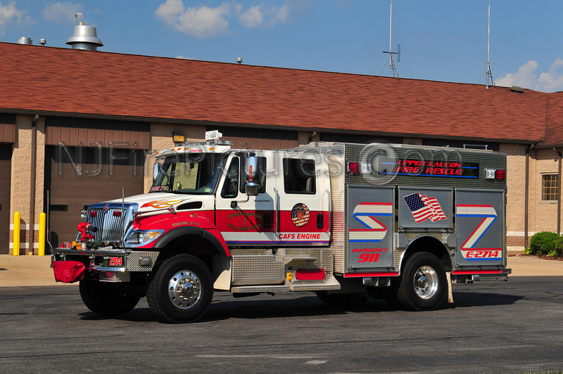 UPPER SAUCON ENGINE 2714 - 2004 INTERNATIONAL/ROSENBAUER 1250/500/30