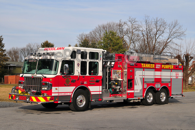 SOUTH WHITEHALL TWP (WOODLAWN FIRE CO.) TANKER 3221 - 2012 SPARTAN/SMEAL 1500/2500/30
