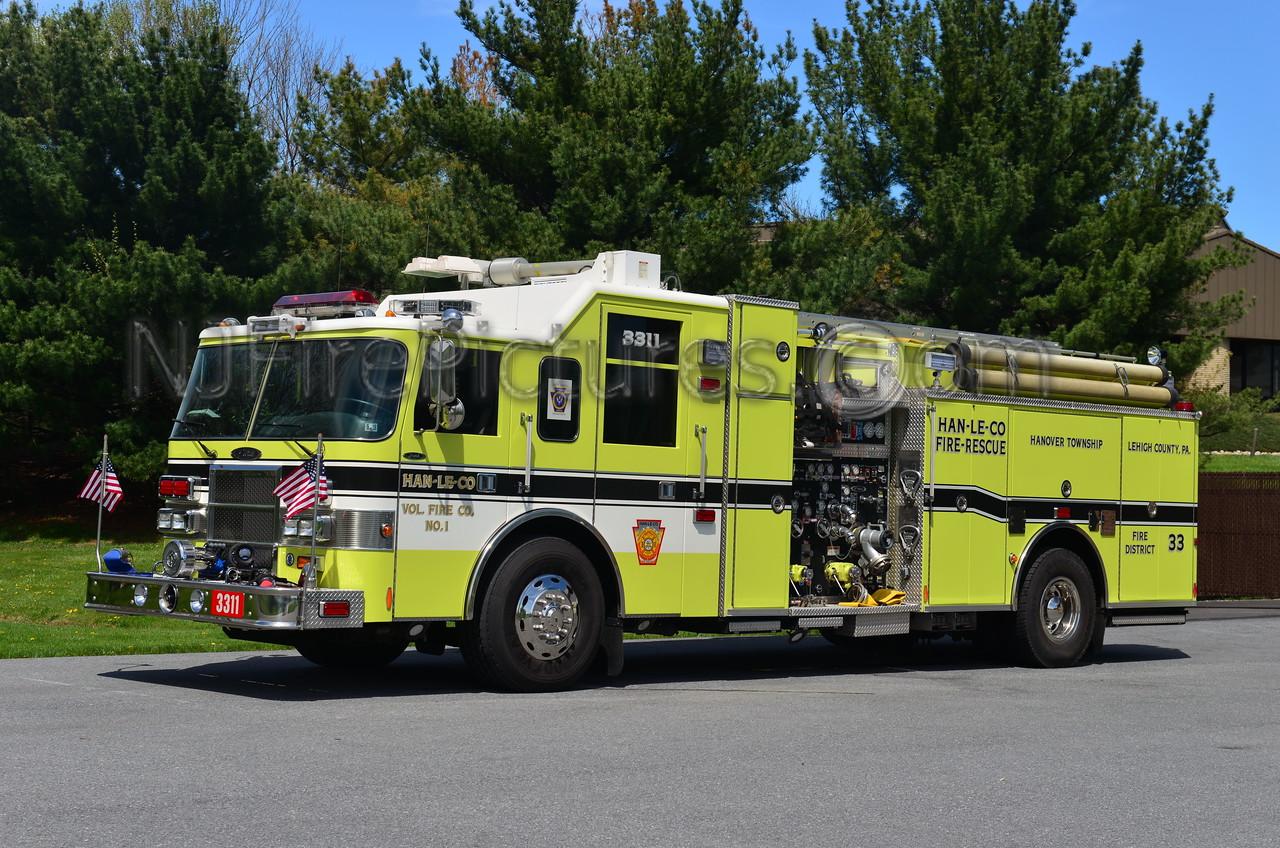 HANOVER TOWNSHIP, PA ENGINE 3311