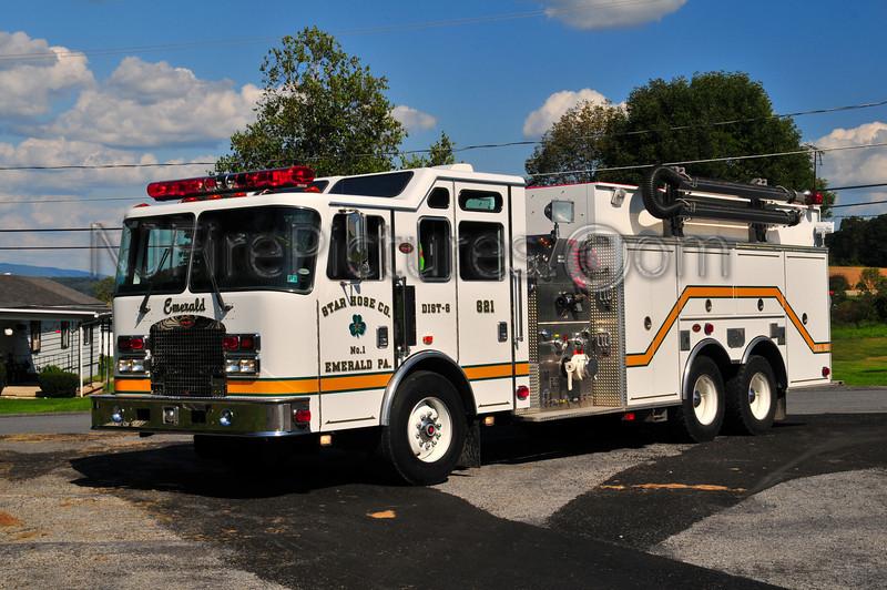 Emerald, PA Tanker 621 - 1999 KME 1500/2500 (Lehigh County)