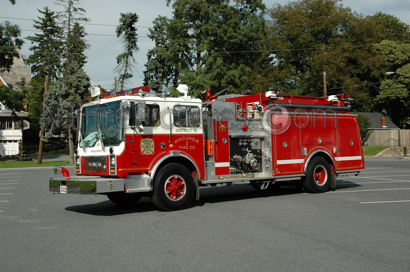 Macungie - Engine 1512 - 1987 Mack MC/Pierce 1250/750