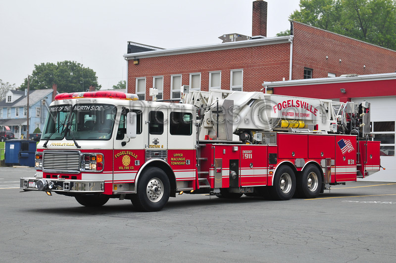 FOGELSVILLE TOWER 831 - 1999 AMERICAN LAFRANCE/LTI 75'