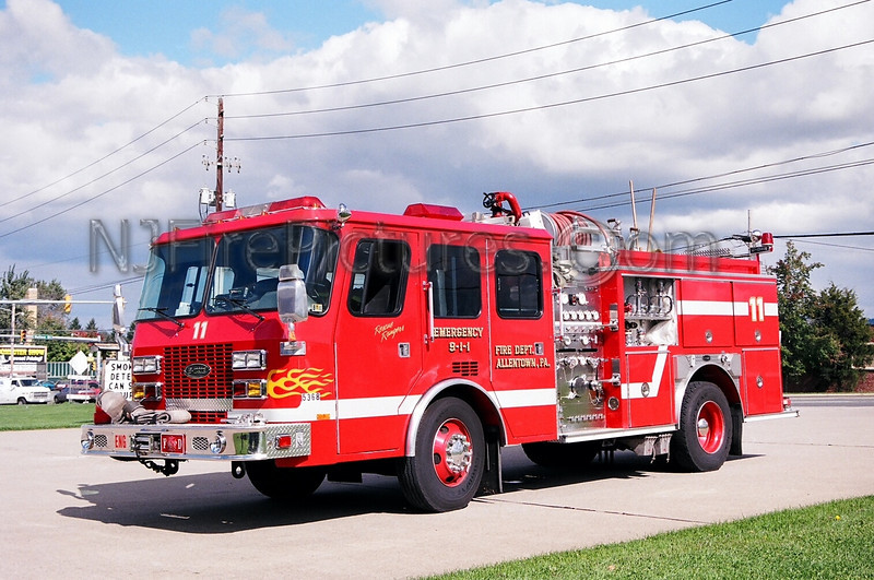 ALLENTOWN - ENGINE 11 - 1994 E-ONE 1250/500
