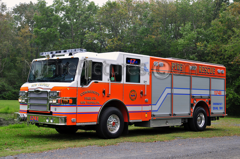 NEW TRIPOLI RESCUE 1741 - 2010 PIERCE IMPEL