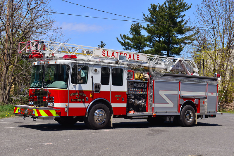 SLATEDALE, PA LADDER 2331