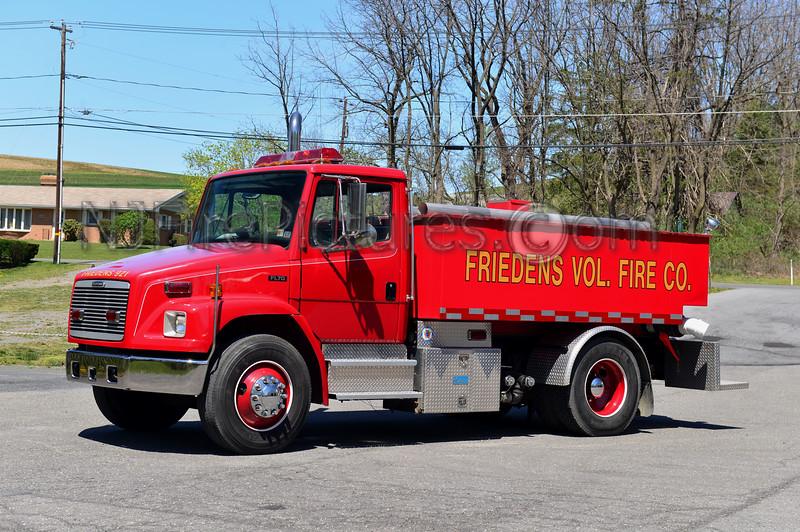 WASHINGTON TWP, PA (FRIEDENS FIRE CO.) TANKER 921