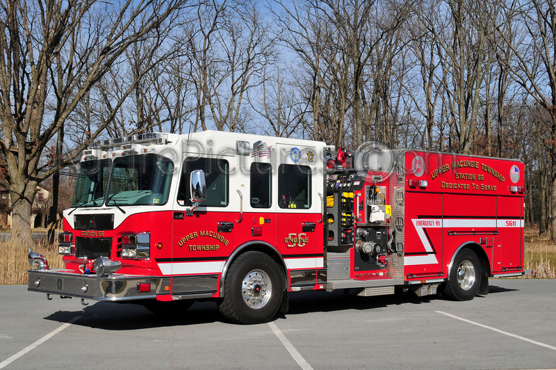 UPPER MACUNGIE, PA ENGINE 5611 - 2008 SPARTAN/SMEAL 2000/1000/20