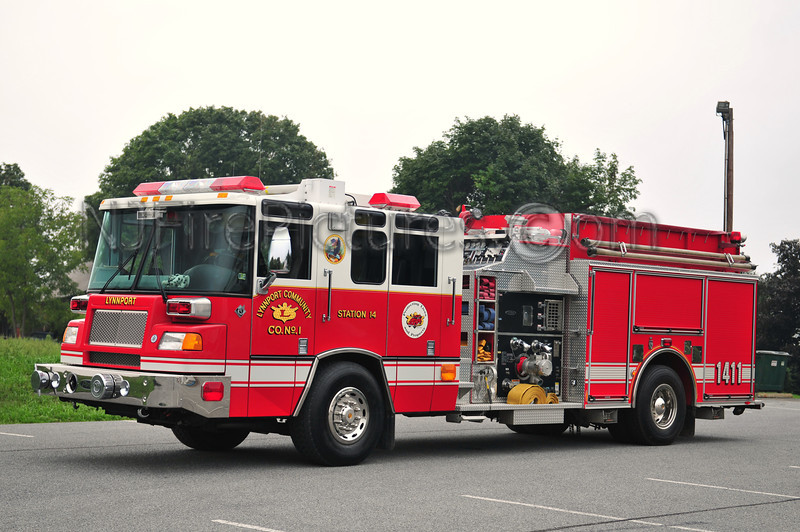 LYNNPORT ENGINE 1411 - 1998 PIERCE QUANTUM 1500/750/30