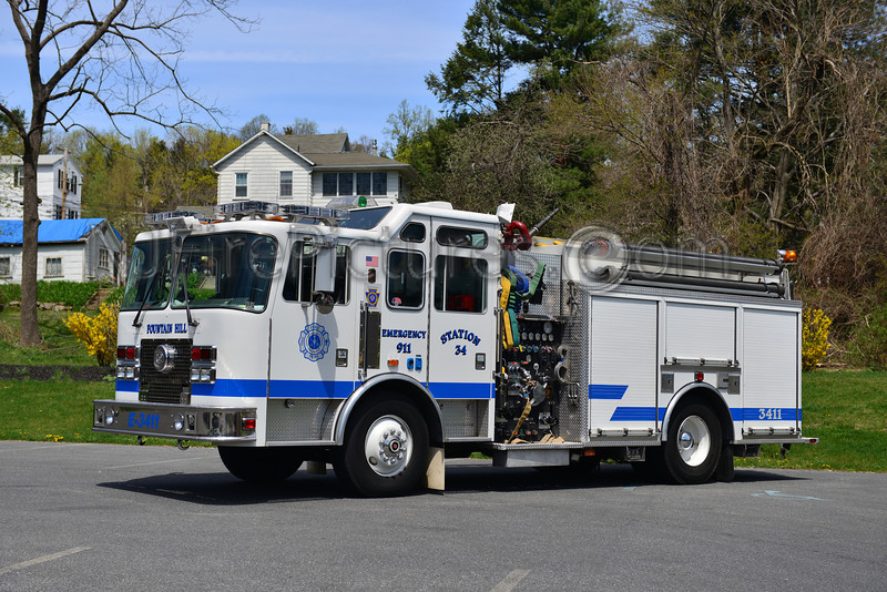 FOUNTAIN HILL, PA ENGINE 3411