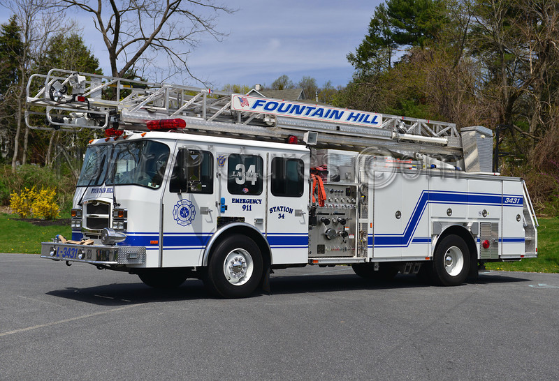 FOUNTAIN HILL, PA LADDER 3431