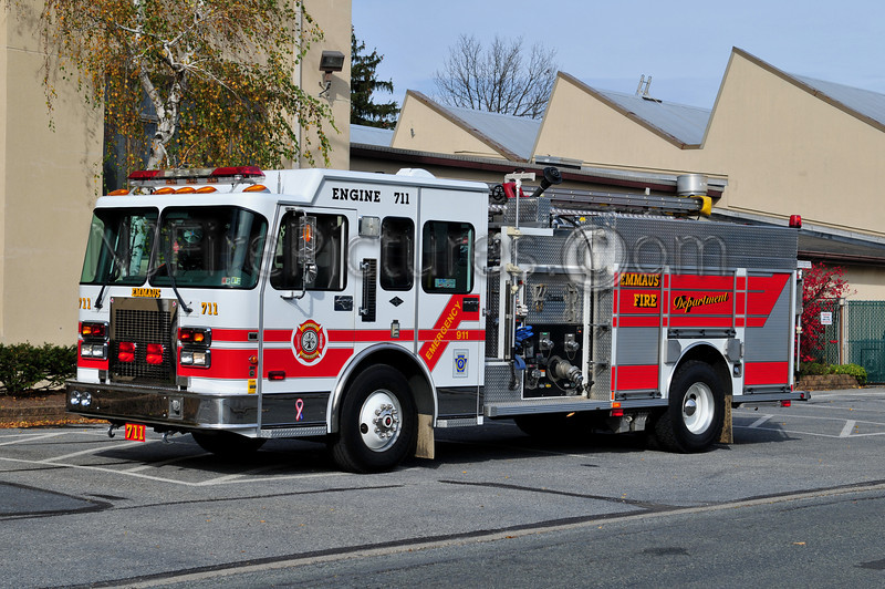 EMMAUS, PA ENGINE 711 - 1998 SPARTAN/CENTRAL STATES 1500/750