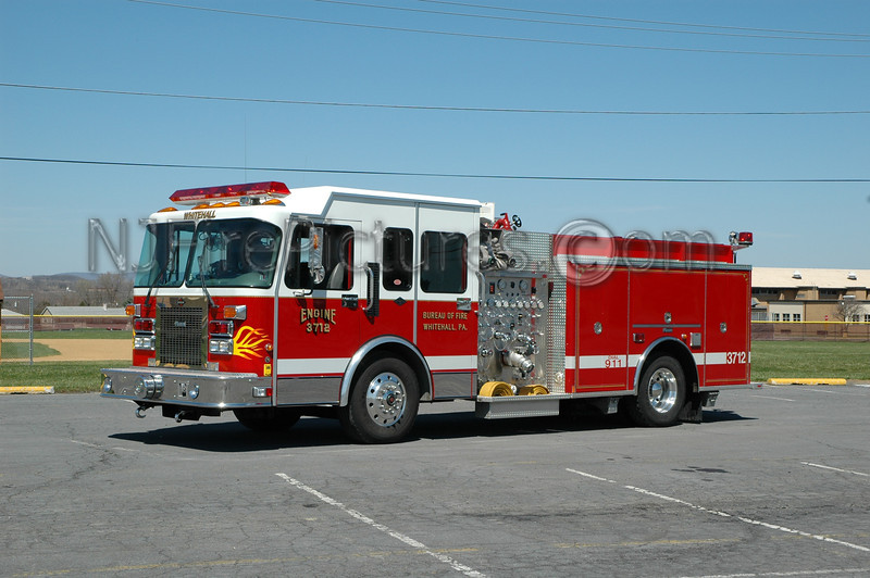 Whitehall Twp - Engine 3712 - 1996 Spartan/Marion 1250/500