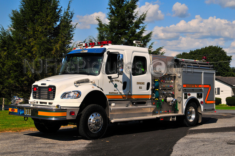 Emerald, PA Engine 611 - 2007 Freightliner/KME 1500/1500 (Lehigh County)