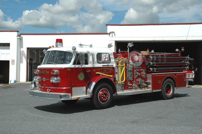 Bath - Engine 4011 - 1970/1992 American LaFrance/Micro 1000/550