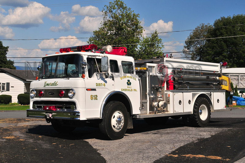 Emerald, PA Engine 612 - 1986 Ford C/E-ONE 1000/2500 (Lehigh County)