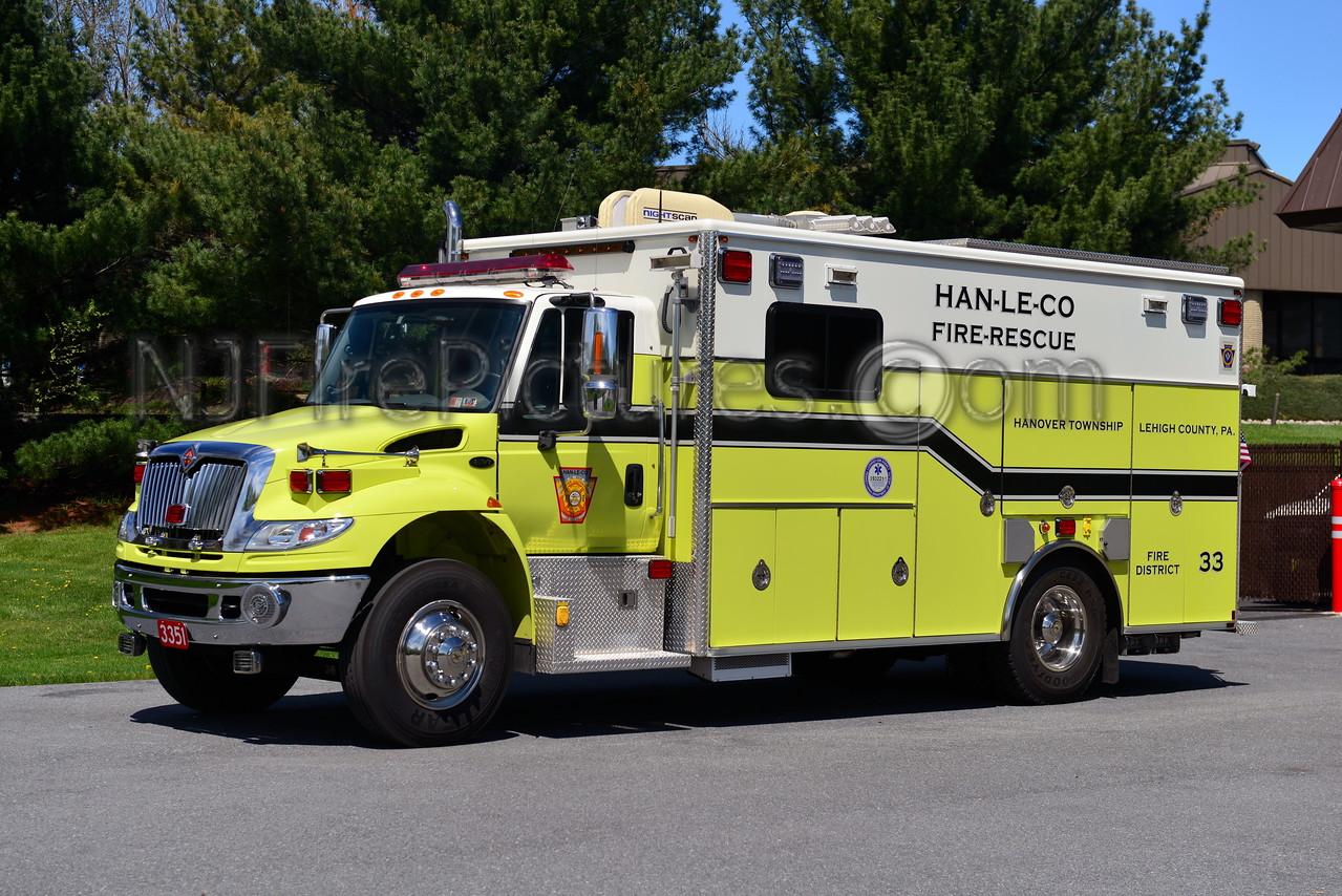 HANOVER TOWNSHIP, PA SQUAD 3351