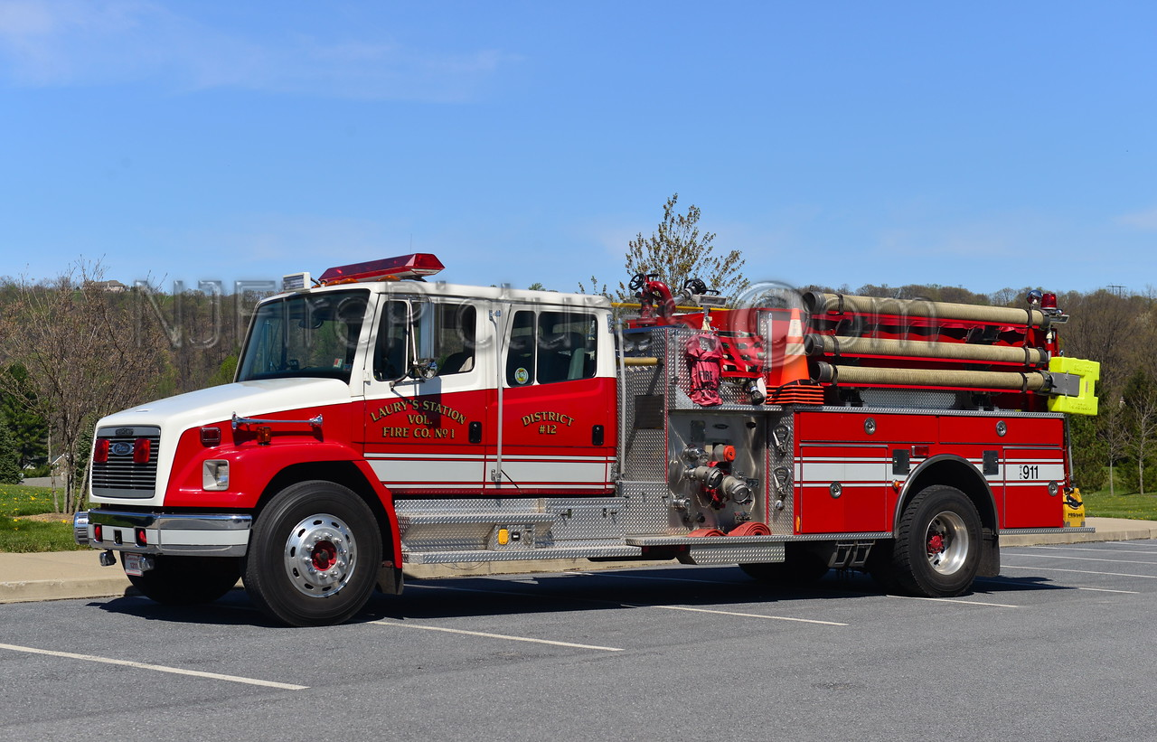 NORTH WHITEHALL, PA (LAURY'S STATION) ENGINE 1211