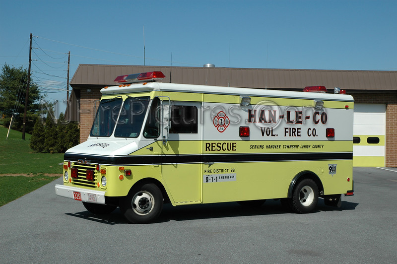 HAN-LE-CO - Rescue 3351 - 1984 GMC/Grumman