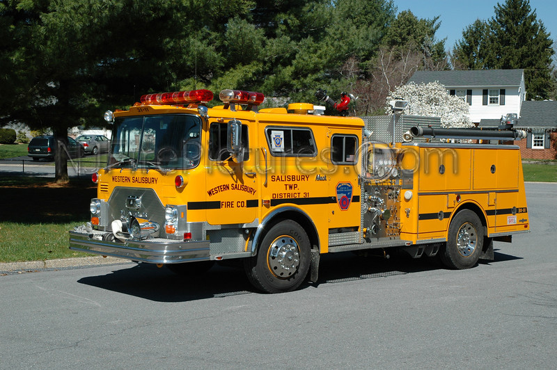 Western Salisbury - Engine 3111 - 1986 Mack CF/Ward 79 1000/500