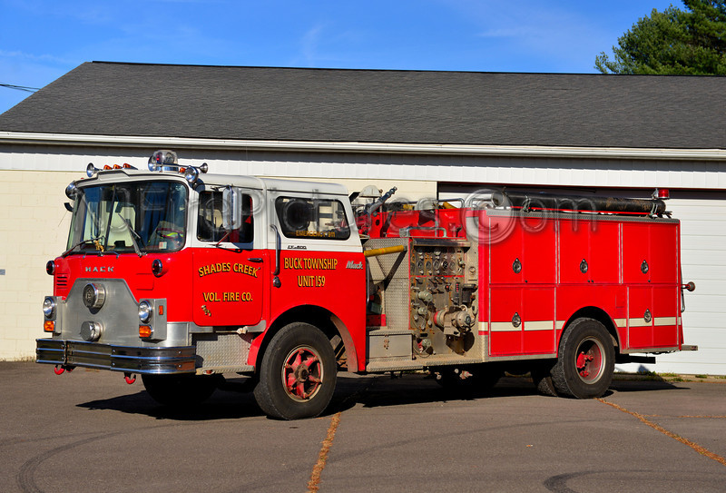 SHADES CREEK FIRE CO. BUCK TWP, PA ENGINE 113